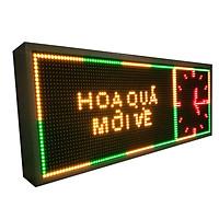 Biển quảng cáo màn hình LED thông minh HIKARU 3 màu, 1 mặt hiển thị, KT cao 360 x rộng 1000