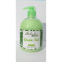 Sữa rửa tay Milaki Natural Green Tea hương trà xanh
