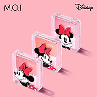 Phấn Má Hồng M.O.I Hồ Ngọc Hà Siêu Mịn Glowing Cheeks Hàn Quốc 3 Màu Siêu HOT M.O.I và Disney Hình Chuột Mickey
