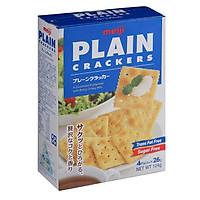 Bánh quy xốp cracker soda cao cấp Meiji - 5 hộp (520g)