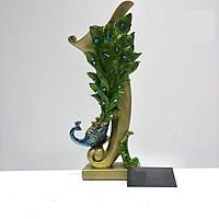 Decor Trang Trí Để Bàn Lọ hoa phượng hoàng DDB122