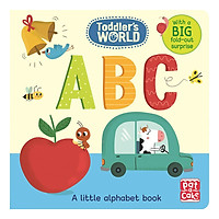Toddler's World: ABC: A little alphabet board book with a fold-out surprise - Toddler's World