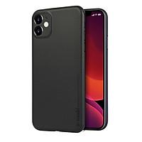 Ốp lưng nhám siêu mỏng 0.3mm cho iPhone 11 (6.1 inch) hiệu Memumi có gờ bảo vệ camera - Hàng nhập khẩu