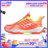 Giày cầu lông nữ Lining AYTQ028-3 hàng chính hãng - Tặng kèm tất Bendu chính hãng