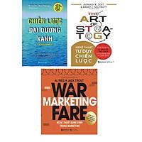 Bộ Sách Rèn Luyện Tư Duy Chiến Lược ( Chiến Lược Đại Dương Xanh + Nghệ Thuật Tư Duy Chiến Lược + Nghệ Thuật Dụng Binh Trong Marketing ) Tặng Boookmark Tuyệt Đẹp