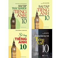 Combo Bài Tập Tiếng Anh 10 Không Đáp Án - Mai Lan Hương