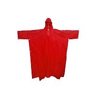 Áo mưa cánh dơi nhựa màu đỏ