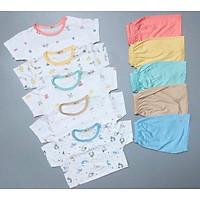 Bộ quần áo trẻ em KHUY VAI QATE661 cho bé sơ sinh tới 18kg