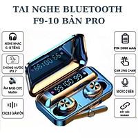 Tai Nghe Bluetooth Magicight F9-10 TWS Không Dây Pro Max 2021 - Nút cảm ứng - Hiển thị % pin – Pin trâu sử dụng lên tới 5h - Hàng Nhập Khẩu