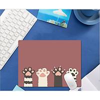 Miếng lót chuột, bàn di chuột, mouse pad nhỏ dùng trong văn phòng, cừa hàng kích thước 26x21 nhiều mẫu dễ thương