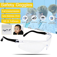 1PCS For Kids Adult Anti Virus Eye Protection Lab Outdoor Work Eyewear Clear Protective Safety Goggles Glasses