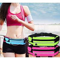 Túi đeo bụng, hông tập thể thao Đa Năng Cao cấp siêu nhẹ không thấm nước