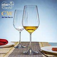 Bộ Ly Rượu Vang Pha Lê Tiệp Crystalex WaterFall 550ml Red Wine