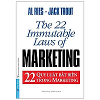 Sách - 22 Quy luật bất biến trong marketing - FirstNews