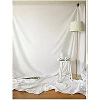 Phông vải đơn sắc trắng 2.9x5m
