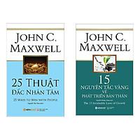 Combo Sách Tư Duy Kỹ Năng Sống: 25 Thuật Đắc Nhân Tâm + 15 Nguyên Tắc Vàng Về Phát Triển Bản Thân (Tặng kèm Bookmark Green Life)