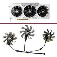 3 Quạt GPU 87MM 7PIN T129215S RTX 2060, Dành Cho ASUS ROG- STRIX-RTX Video Đồ Họa 2060 2070-O8G-GAMING RTX2060 Rttx 2070