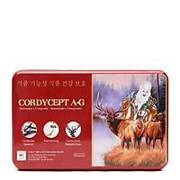 Thực Phẩm bảo vệ sức khỏe CORDYCEPT A-G chứa đông trùng hạ thảo bồi bổ cơ thể, tăng cường miễn dịch