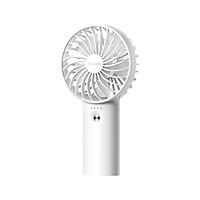 Yoobao Y-F3 USB Fan Rechargeable Handheld Mini Fan Desktop 3-level Small Fans Electrical Fan White 3000mAh