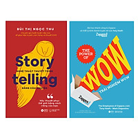 Combo Trải Nghiệm Wow + Storytelling – Nghệ Thuật Thuyết Trình Bằng Câu Chuyện