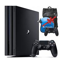 Máy Playstation PS4 PRO 1TB CUH-7218B + Combo quà tặng: Tay bấm game, Balo & Nón bảo hiểm PS4 - Hàng chính hãng