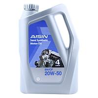 Nhớt Động Cơ AISIN ESSN2054P 20W-50  SN / CF Semi Synthetic (4L)