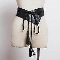 Hot thương hiệu Thời Trang desgin rộng Thắt Lưng Da cho phụ nữ ăn mặc nữ tua dài dây đeo Vàng giản dị dây thắt lưng Người Phụ Nữ chất lượng Cao