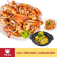 Vua Cua - Voucher Combo Cua & Tôm Càng