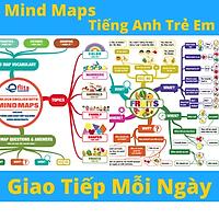 Mind Map Tiếng Anh Trẻ Em Giao Tiếp Tại Nhà - Mindmap cho bé từ 0-12 tuổi