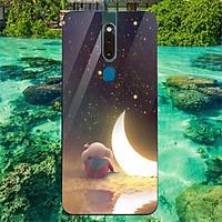 Ốp kính cường lực cho điện thoại Oppo F11 Pro - Heo Dễ Thương MS HDTDD120