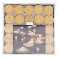 Hộp 100 Nến Tealight Bông Mai Nycandle FtraMart Candle (Vàng)