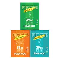 Combo Mega Luyện Đề THPTQG 2019: Toán - Hóa - Sinh