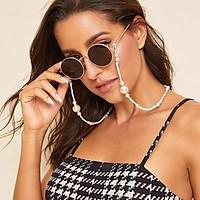Fashion Chain Imitation Pearl Neck Wear Anti-skid Glasses Chain Sunglasses Accessories Anti-loss Cord