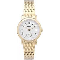 Đồng hồ NEOS N-40675L nữ dây thép vàng