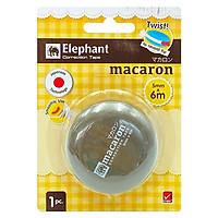 Bút Xóa Kéo Elephant - MACARON - Màu Nâu