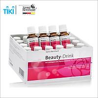 Nước uống đẹp da Collagen Beauty Drink - hộp 30 chai giúp bổ sung Collagen giúp cải thiện nếp nhăn và độ đàn hồi của da, giúp da sáng mịn, hỗ trợ chống lão hóa da