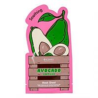 Mặt nạ dưỡng da dịu nhẹ chiết xuất quả bơ Scentio Avocado 5g
