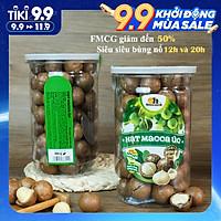 Hạt Macca Úc nứt vỏ Smile Nuts (215g - 500g) | 100% nhập khẩu từ Úc, giòn béo, thơm ngon