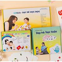 Combo Bộ Thẻ Flashcard Nâng Cao Cho Bé - Bộ 300 Thẻ Tiếng Việt + Bộ 109 Thẻ Toán + Bộ 300 Thẻ Thế Giới Xung Quanh