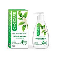 Dung Dịch vệ sinh Phụ nữ Choicare Làm Sạch, Khử Mùi, Hỗ Trợ Kháng Khuẩn 150ml