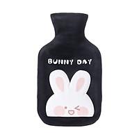 Túi Chườm Bụng Kinh Nóng Lạnh 350ml Họa tiết Thỏ Bunny dễ thương.