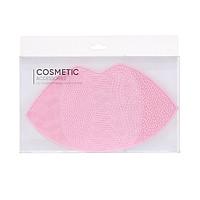 Dụng cụ vệ sinh cọ trang điểm Miniso hình môi (Hồng) - Hàng chính hãng