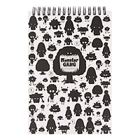 Sổ Lò Xo Monster Gang - Mẫu 5 - Hình Cây