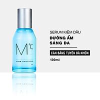 Serum kiềm dầu và dưỡng ẩm dành cho nam MdoC Sebum Strike Serum 100ml Tinh chất dưỡng ẩm và kiểm soát tiết dầu JN-MSR01