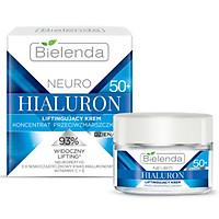 Kem dưỡng ẩm sáng da Bielenda Neuro Hyaluron Moisturizing Anti Wrinkle Cream Concentrate 50+ Day Night - 50ml