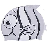 Nón bơi trẻ em, nón bơi cho bé chất silicon chống thấm nước, co giãn tốt hình cá đủ màu sắc cho bé thoải mái bơi lội – NB005
