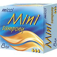 Băng vệ sinh đặt trong loại nhỏ 8 Miếng/ Hộp (Micci Lady Tampons mini)