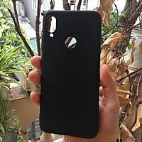 Ốp Lưng Dẻo Cho Xiaomi Redmi Note 7/ Redmi Note 7 Pro (Đen) chống bám bẩn, chống bám vân tay - Hàng nhập khẩu