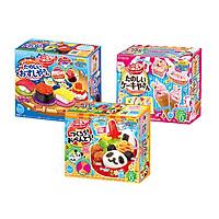Combo 3 hộp kẹo sáng tạo popin cookin đồ chơi ăn được