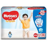 Tã Quần Huggies Dry Gói Đại XXL38 (38 Miếng)